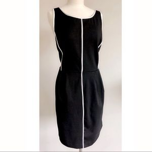 Apt 9 Contrast Piping Dress